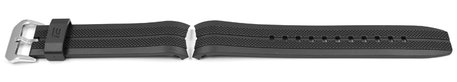 Casio Black Resin Replacement Watch strap for EFR-102-1A3V, EFR-102-1A5V
