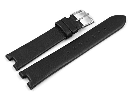 Lotus Black Leather Watch Strap for 15899/2 15899