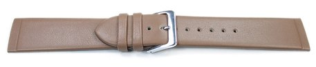 Light Brown Watch Strap suitable for SKW6082 Leather Watch Band