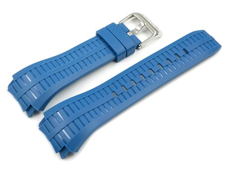 Genuine Lotus Replacement Blue Rubber Watch Strap for 15779, 15779/6