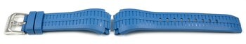Genuine Lotus Replacement Blue Rubber Watch Strap for...