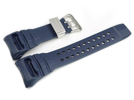 Casio Blue Resin Replacement Watch Strap GWN-Q1000NV-2A GWN-Q1000NV-2AJF