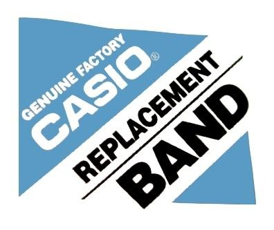 Genuine Casio Replacement White Resin Watch Strap for GLX-150X-7