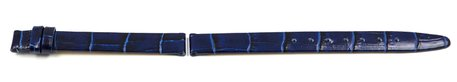 Lotus Blue Leather Replacement Strap for 15142/5, 15142