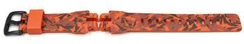 Casio Camouflage Orange Resin Strap for PRG-300CM...