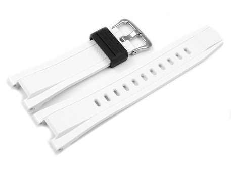 Genuine Casio Replacement White Resin Watch Strap for GST-210B-7A, GST-210B-7, GST-210B