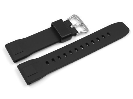 Genuine Casio Replacement Black Resin Watch strap f.  PRG-600 PRG-600Y