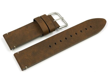 Genuine Casio Replacement Brown Leather Watch Strap f. PRG-600 PRG-600YL PRG-600YL-5