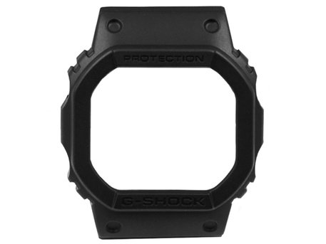 Genuine Casio Black Resin Bezel for DW-5600MS DW-5600MS-1