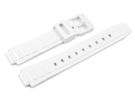 Casio Shiny White Resin Watch Strap for LX-S700H LX-S700H-5 LX-S700H-7