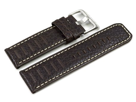 Lotus Dark Brown Leather Replacement Strap for 15532/1 15532/4