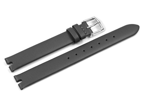Genuine Lotus Black Leather Watch Strap for 18458/2, 18458