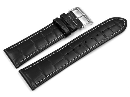 Lotus Black Leather Watch Strap for 15628 15628/2 15628/3 15628/4 15628/6