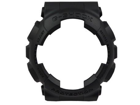 Casio Black Resin Bezel G-Shock for GA-100-1A1