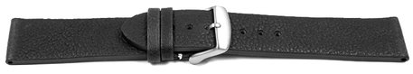 Watch strap - Berlin - Genuine leather - Soft Vintage - black