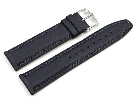 Festina Replacement Dark Blue Leather Watch Strap for  F16844/2