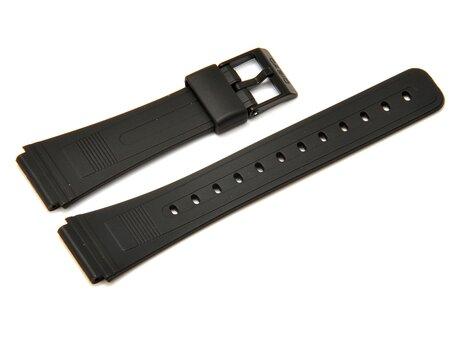 Casio Black Resin Watch Strap Casio for W-84 and W-86