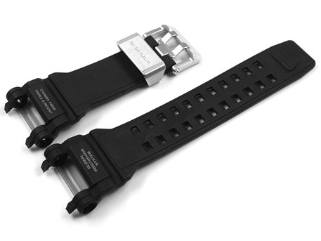 Genuine Casio Black Carbon Fiber insert Resin Strap for GPW-2000-1AER