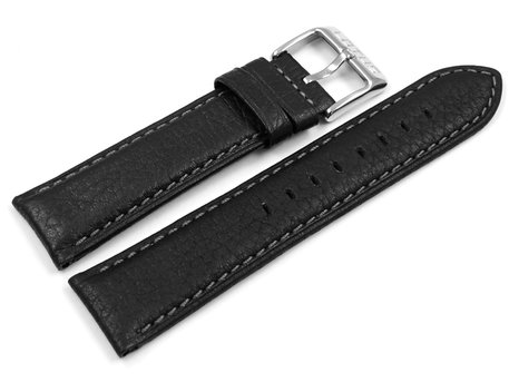 Genuine Lotus Black Leather Watch Strap for 15848 15300