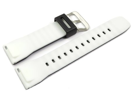 Casio Pro Trek Black Watch Strap with White Inner Side for PRG-650-1 PRG-650