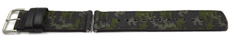 Casio Camouflage Cloth Watch Strap for Pro Trek PRG-650YBE-3 PRG-650YBE