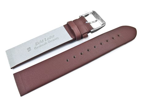 Dark Brown Leather Watch Strap suitable for SKW2192