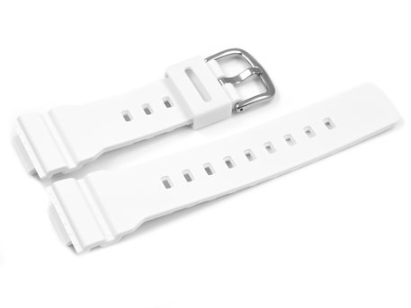 White Resin Strap Casio for BA-120LP-7A1 BA-120-7