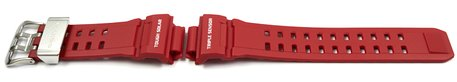 Casio Replacement Red Resin Watch Strap GW-9400RD GW-9400RD-4