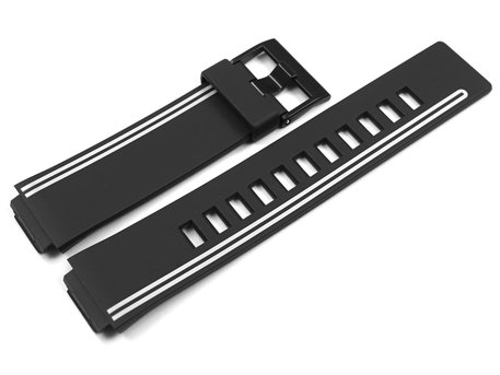 Casio Replacement Black Resin Watch Strap LCF-21