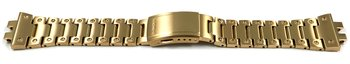 Genuine Casio Satingold-tone Stainless Steel Watch Strap...