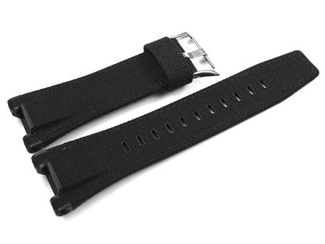 Casio Black Cloth Cordura Watch Strap  GST-W130C-1A GST-S130C-1A GST-W130C GST-S130C