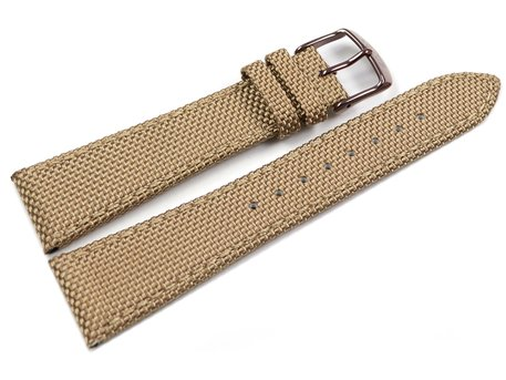 Genuine Lotus Replacement Light Brown Watch Strap for 18167