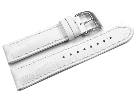 Genuine Festina Replacement White Leather Watch Strap for F16275/B