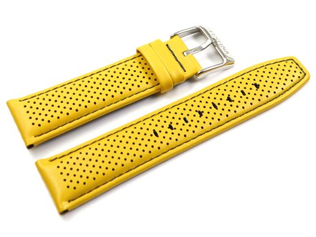 Festina Yellow Leather Replacement Watch Strap F20339/3 F20339