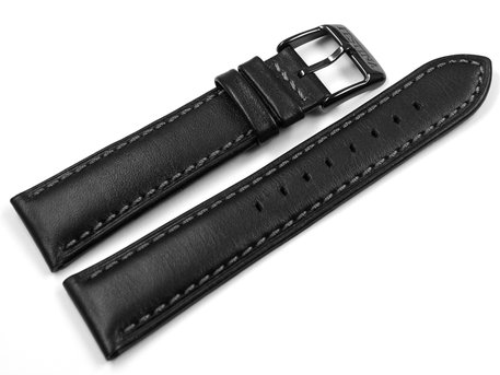 Festina Chrono Sport Black Leather Replacement Watch Strap F20344/3 F20344