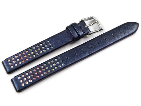 Genuine Festina Blue Leather Watch strap for F20407/2 F20407