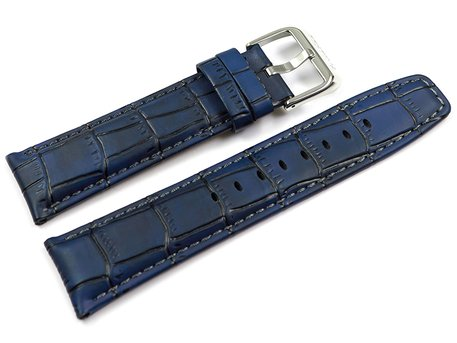 Genuine Festina Dark Blue Leather Watch Strap for F16573