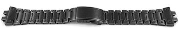 Casio Black Aged Metal Watch Strap GMW-B5000V-1...