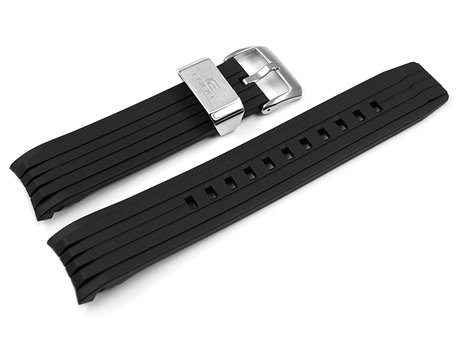Casio Black Resin Watch Strap for EQB-501XBR EQB-800BR