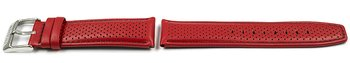 Festina Red Leather Replacement Watch Strap F20339/5 F20339