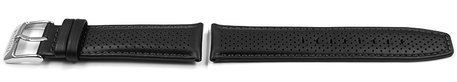 Festina Black Leather Replacement Watch Strap F20339/6 F20339/R F20339