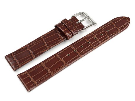 Genuine Festina Brown Leather Croc Grained Watch Strap for F16477/2 F16477