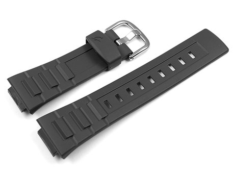 Genuine Casio Repalcement Black Resin Watch Strap for BGA-117-1 BGA-117