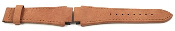 Genuine Lotus Replacement Brick Brown Leather Watch Strap...