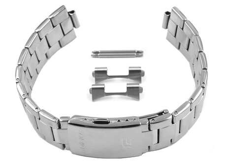 Stainless Steel Watch Strap Bracelet Casio for EFR-S107D-1AV EFR-S107D EFR-S107D-1