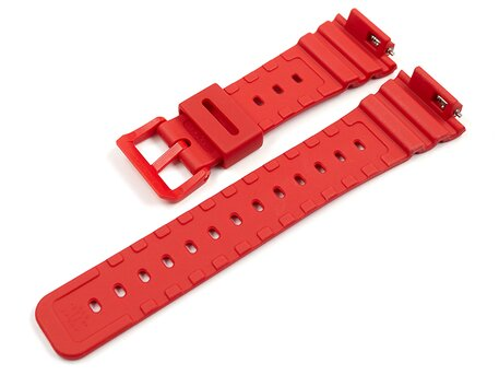 Casio Red Resin Watch Strap for GA-2100-4 GA-2100-4A GA-2100-4AER