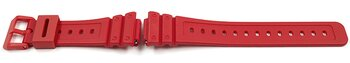 Casio Red Resin Watch Strap for GA-2100-4 GA-2100-4A...