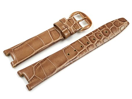 Festina Light Brown Leather Watch Strap F16736/1