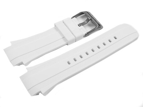 Lotus White Rubber Watch Strap for 15791/1 15791