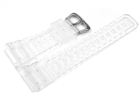 Casio Replacement Transparent Resin Watch Strap for DW-6900SP-7 DW-6900SP DW-6900SP-7ER